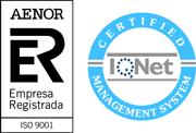 Aenor Sello certificado ciber-seguros.es